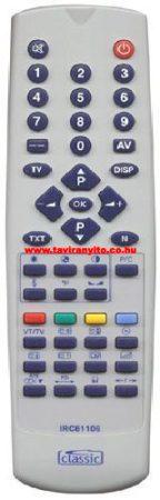 IRC 81106,IRC81106 BEKO RC613311 RFTTV520 távirányító