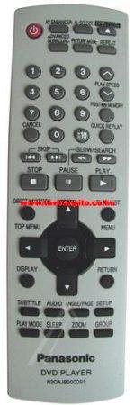 N2QAJB000091 PANASONIC GYÁRI DVD távirányító