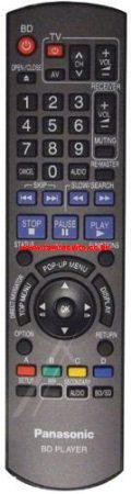 N2QAYB000185 PANASONIC BD PLAYER távirányító
