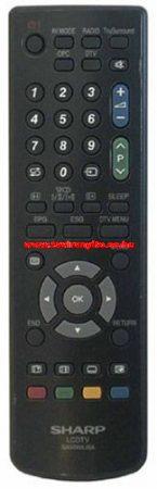 GA574WJSA SHARP LCD távirányító