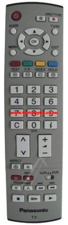 EUR7651090, EUR765109A, EUR765109, EUR765101C,  PANASONIC PLAZMA GYÁRI távirányító