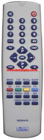 AEG RCFS29, AEG RC-FS29 TV távirányító
