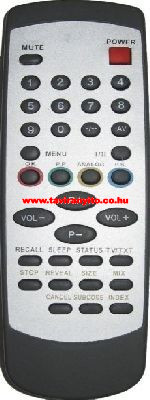 RC344 ORION T2136MTXSFLS T2136-MTX-S-FLAT távirányító