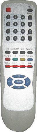 AKAI CT-V216MT-E10, CT-V216MT-E10(S) CTV21NTF-PF-E10 VES-01 távirányító