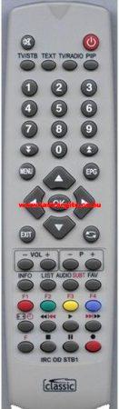 UPC PHILIPS EZÜST SZÍNŰ RC 2582101/01,RC258210101 távirányító