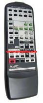 SHARP  gyári távirányító RRMCG0135AWSA távirányító