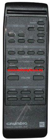GRUNDIG RC3 759875881500 távirányító KPL. *V101