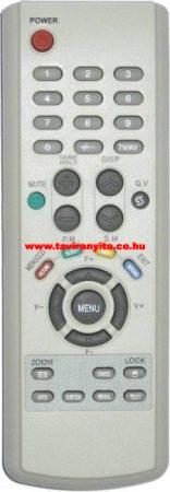 HE-TC2170F, HE-TC1437, HE-TC2152 VES-04 HYUNDAI TV TÁVIRÁNYÍTÓ