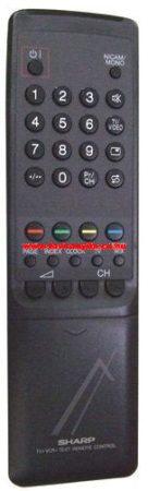 SHARP  gyári távirányító RRMCG1032BMSA RRMCG1032BMSA távirányító