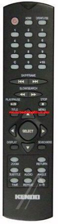 VESTEL 20393620 R/C 2540 DVD EHHEZ PASSZOL KENDO (S) HDMI BLK ROHS távirányító
