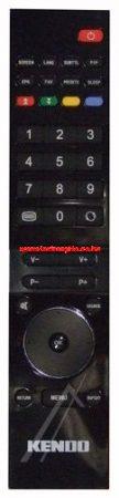 VESTEL RC3920 20504790 távirányító EHHEZ PASSZOL KENDO (BLACK)(GRAY/S)