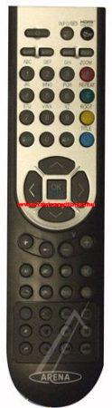 VESTEL  gyári távirányító RC1900 20435982 távirányító ARENA (GRAY/S)