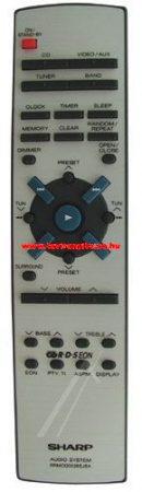 SHARP  gyári távirányító RRMCG0028SJSA távirányító