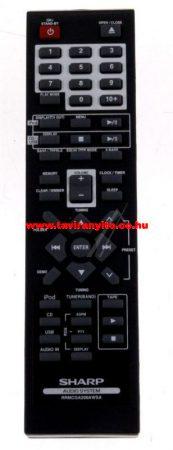 SHARP  gyári távirányító RRMCGA206AW01 távirányító