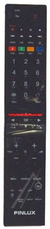 VESTEL RC5100 20487135 távirányító EHHEZ PASSZOL FINLUX (GRAY/S)(BLACK/P)