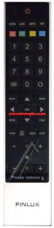 VESTEL RC3910 20532044 távirányító EHHEZ PASSZOL FINLUX (BLK/SLVR(GRAY/S)