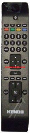 VESTEL RC2850 20557883 távirányító EHHEZ PASSZOL KENDO BLACK DVB ROHS