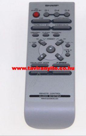 SHARP  gyári távirányító RRMCG0063SJSA RRMCG0063SJSA távirányító