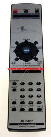 SHARP  gyári távirányító RRMCG0341AWSA távirányító