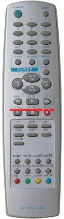 6710V00032U, 6710V00026H, 6710V00026J LG távirányító