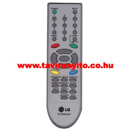LG 29FB5RLX-ZG 6710V00124V LG gyári távirányító
