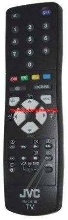 JVC  gyári távirányító RMC1512B VE30021286 távirányító SCHWARZ
