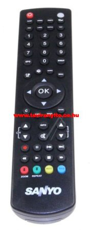 VESTEL  gyári távirányító RC1910 20570013 távirányító EHHEZ PASSZOL SANYO (GRAY/S)