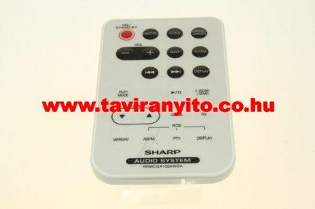 SHARP  gyári távirányító RRMCGA108AWSA távirányító