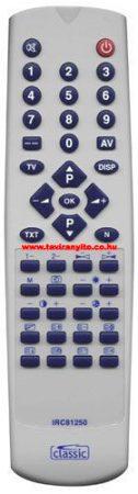 ORION CTV1225MTX, CTV1225TX IRC81250 távirányító