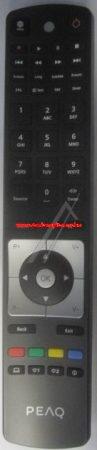 VESTEL  gyári távirányító RC5114 30071697 távirányító, távszabályzó SCHWARZ PEAQ ROHS(PKG