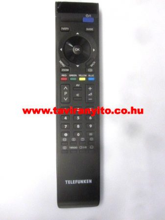 VESTEL  gyári távirányító R/C RM-C2503-1C 23022171 EHHEZ PASSZOL TELEFUNKEN (GRAY/S(BLK/P