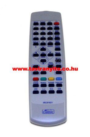 FUNAI NF028RD, NF031RD, NF019RD LT6-M19BB LCD IRC81821 távirányító
