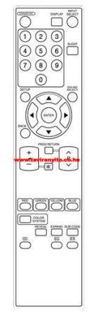 FUNAI NF019RD LC5-D20BB LCD tv távirányító