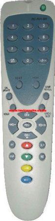 RC-R01-0H, RCR010H GABA távirányító