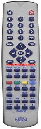 IRC 81490 6710V00009L 6710V00009M 6710V00009K 6710V00017N távirányító