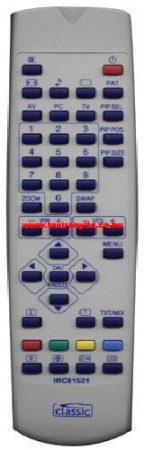 IRC 81521,IRC81521 - OD BEKO ZR4187 RC40 RC45 távirányító