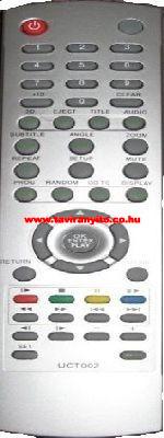 UCT002 THOMSON DTH160E DVD LEJÁTSZÓ távirányító