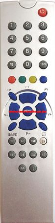 ORION T2120MTX, T2120 PT90 TM3603 TV távirányító