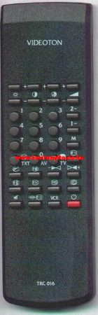 TRC016, TRC 016, TRC016 VIDEOTON távirányító
